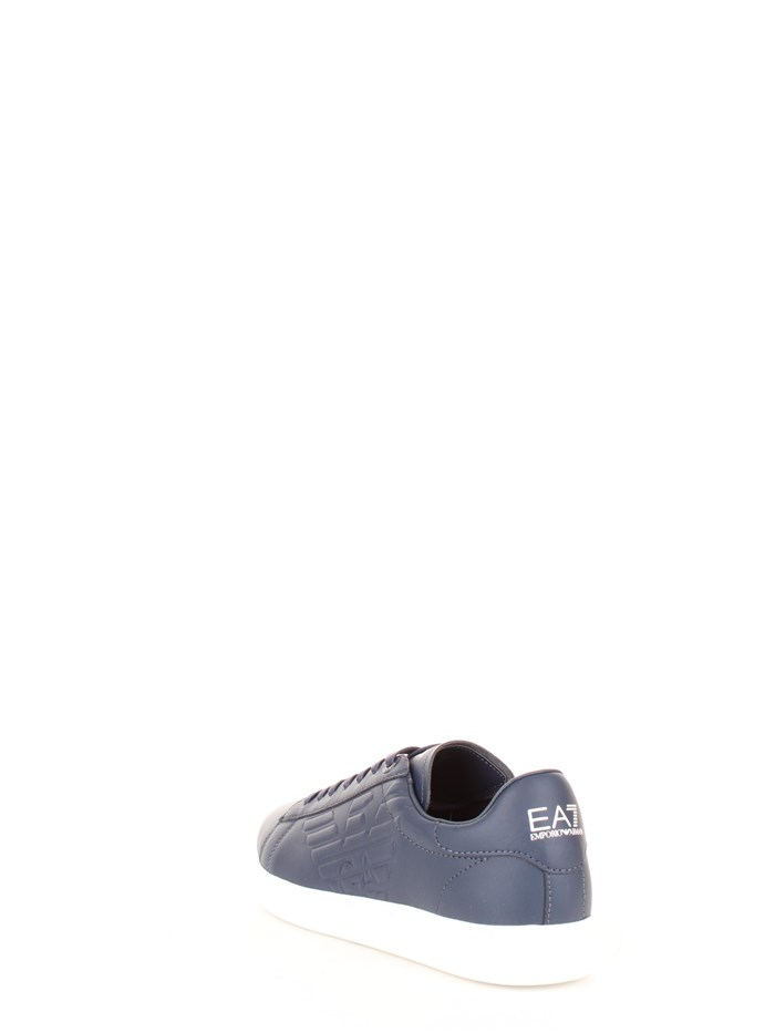EA7 Emporio Armani Shoes Sneakers Blue X8X001-XCC51